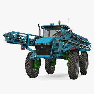 3D model self propelled sprayer generic