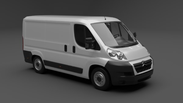 citroen jumper 3D model