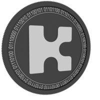 kin black coin 3D