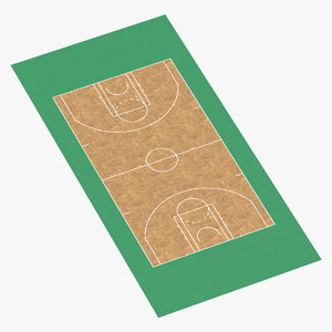 3D model basketball surface
