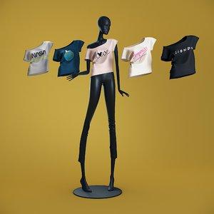 mannequin 6014 coll 60 3D model