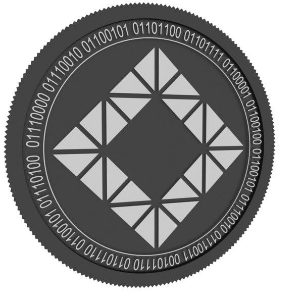 lamden black coin model