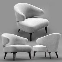 minotti aston chair model