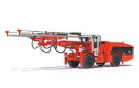 Two-boom drill rig Sandvik DD421