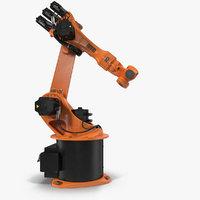 Kuka Robot KR 16-3 Rigged for Cinema 4D