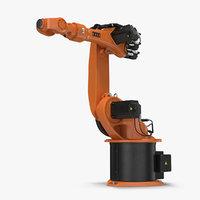 Kuka Robot KR 16-3 Rigged for Maya