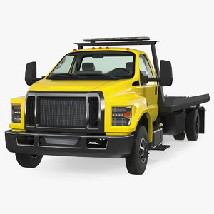 tow truck flatbed bed model