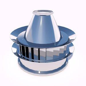 3D fan roof