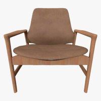 3D realistic armchair model