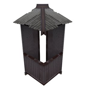 balcony metais 01 14 3D model