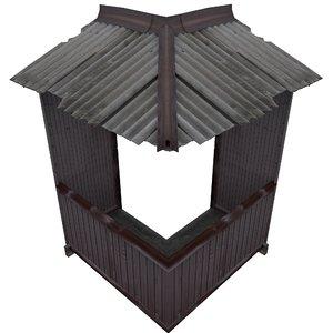balcony metais 01 15 3D