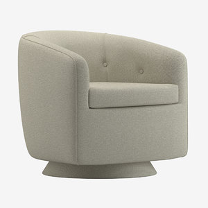 chair 124 3D model