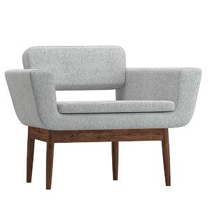 chair 130 3D model