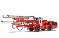 Three-Boom Jumbo Drill Rig Sandvik DD530