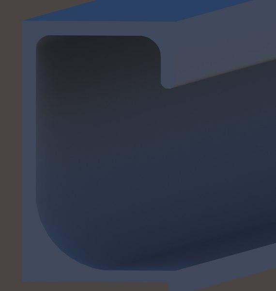 3D g profile handle