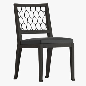 christian liaigre maritime chair 3D model