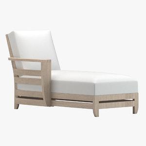 3D model chaise 04