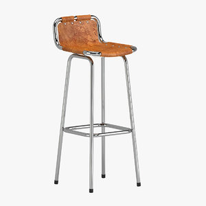 charlotte perriand stool 3D model