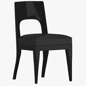 3D christian liaigre musc chair