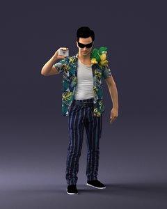 3D pet detective model
