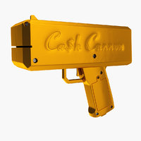 cash cannon 3D