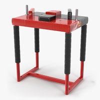 3D professional armwrestling table arm