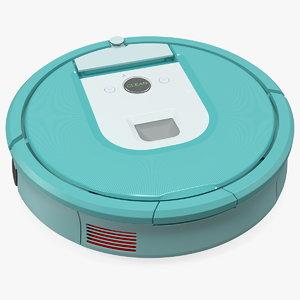 3D robotic vacuum cleaner generic