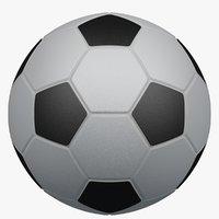 classic soccer ball 3D