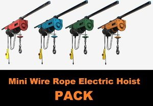 3D mini wire rope electric