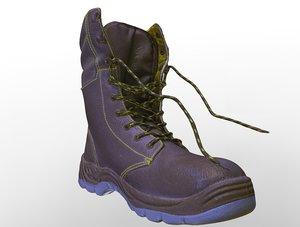 shoes work 3D model