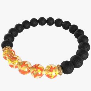 bracelet lava 3D