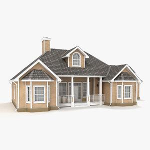 3d story cottage 28 model
