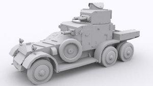 3D lanchester mk2 model