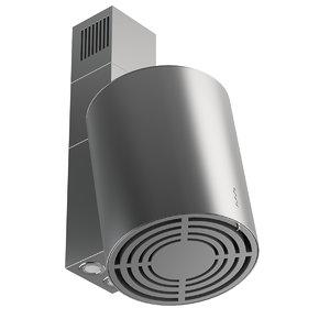 3D cooker hood