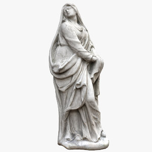 3D model lady grace