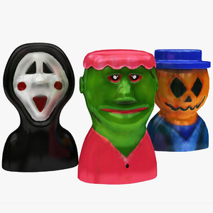 scary toy character 3D