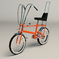 3D chopper bike