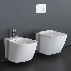 3D essence-c toilet wall-hung bidet