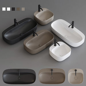 arquitect washbasin 3D