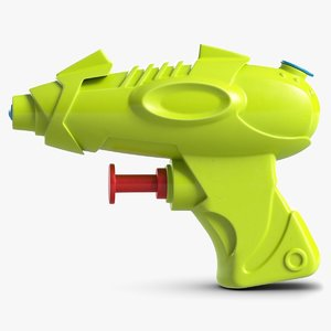 3D water gun toy