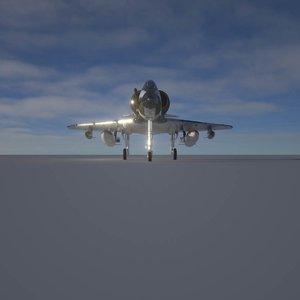 a4 skyhawk 3D