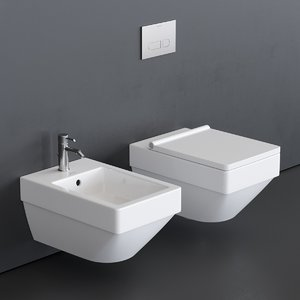 3D vero air toilet wall-hung
