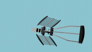 3D tv antenna