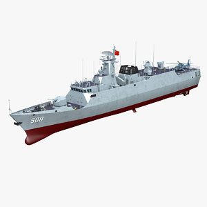 chinese navy type 056 model