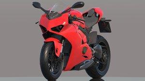 bike supercharged 3D