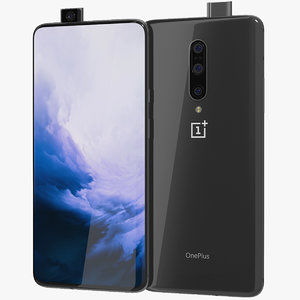 realistic oneplus 7 pro 3D model