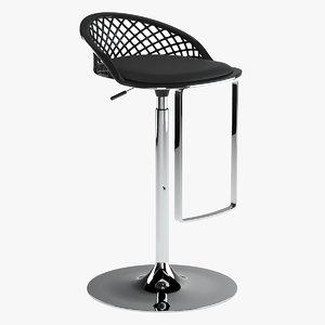 ddc arete stool 3D model