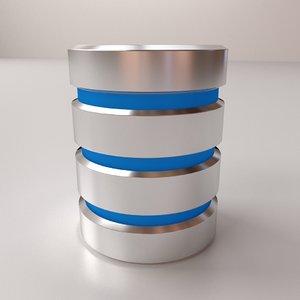 database v2 3D model