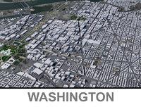 washington 3D model