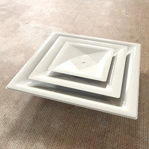 3D model hvac ceiling diffuser